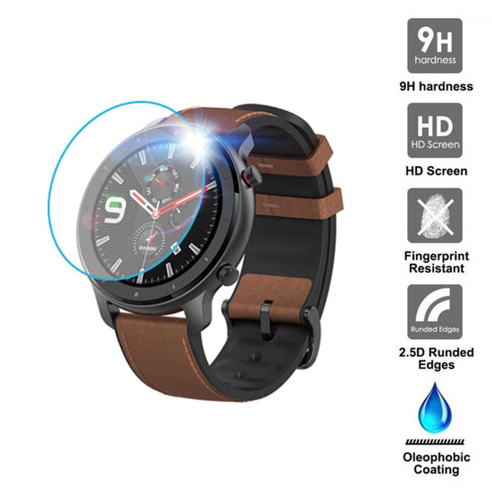 1/3PC Klar Film Gehärtetem Glas Screen Protector für AMAZFIT GTR Smart Uhr 42/47mm Smart uhr Schutzhülle zubehör #722