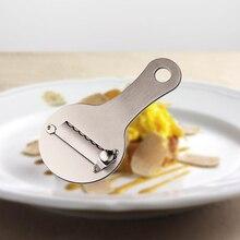Çikolata Dilimleme Gıda Kazıma Planya Paslanmaz Çelik Truffle Peynir Rende Ayarlanabilir Manuel Mutfak Aracı Çok Fonksiyonlu Araçlar