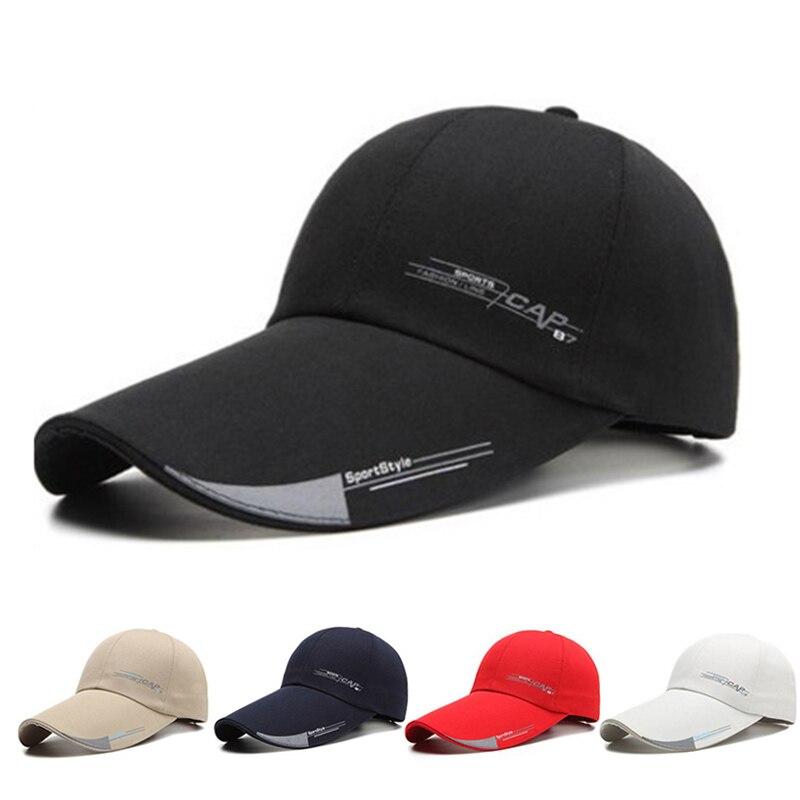 2019 New Men Women Plain Curved Sun Visor Baseball Cap Hat Solid Color Fashion Adjustable Caps snapback casquette gorra hombre