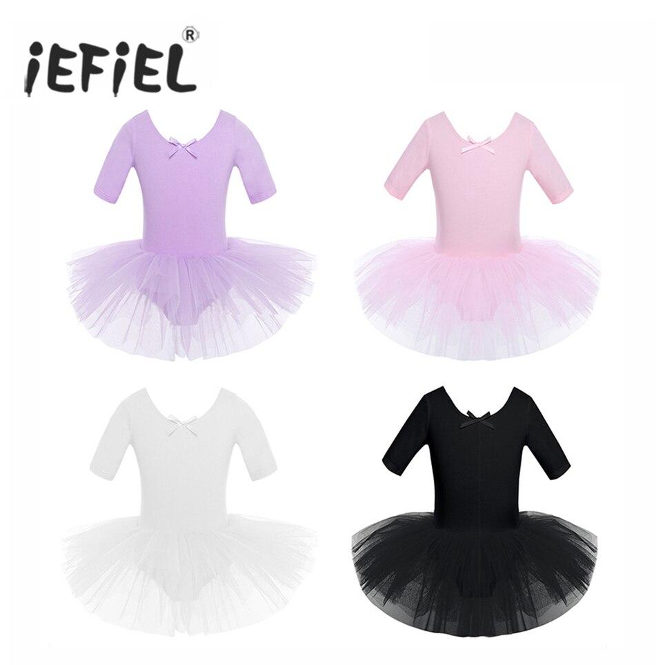 IEFiEL, ropa de Ballet, gimnasia, leotardos de baile, tutú, vestido de bailarina, traje de baile lírico