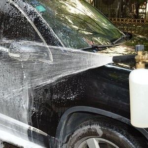 """Image 2 - HNYRI Регулируемый набор очистителей для мыла G1/4 """", быстросъемная насадка для снежной пены с насосом для распыления мыла и воды"""