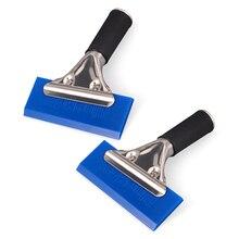2 шт., резиновый скребок для мытья стекол и окон