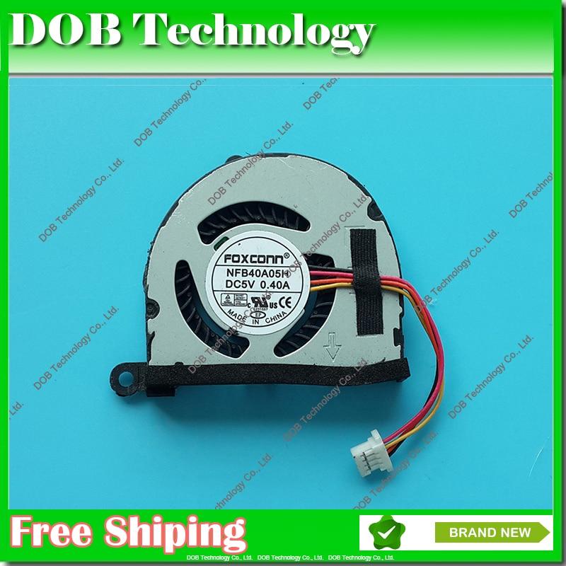 Original cpu laptop cooler fan para ASUS EEEPC 1018 P 1015PW 1015PX 1015PE 1015PE-BBK603 1015PEB 1015 p AF63 KSB0405HB NFB40A05H