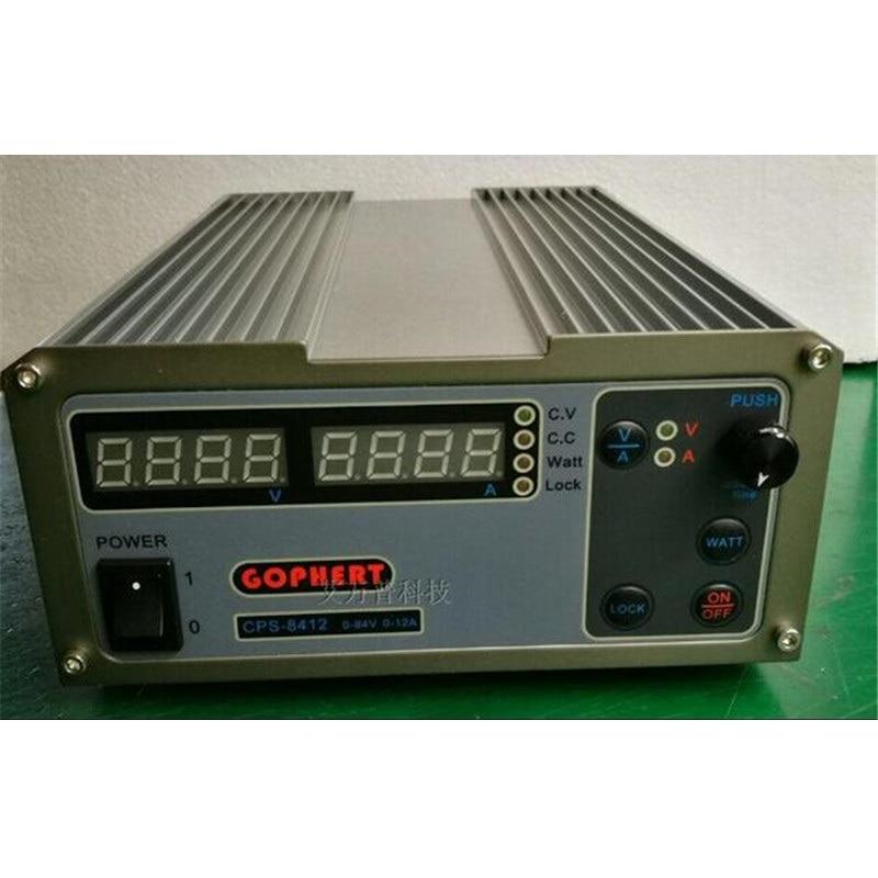 220V CPS-8412 1008W Digital Adjustable DC Power Supply OVP/OCP/OTP MCU Active PFC 84V12A 170V-264V