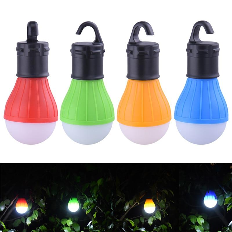 3 LEDs Outdoor Camping Zelt Hängen Abenteuer Lanters Lampe Tragbare LED Licht Jagd hütte Angeln Garten Lampe Bulb drop shipping