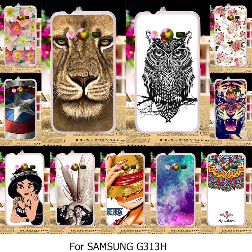 Силиконовый чехол TAOYUNXI для Samsung Galaxy ACE 4 Neo Trend 2 Lite SM-G318H SM-G313H G313 G313H Duos DS чехол ТПУ бампер сумка