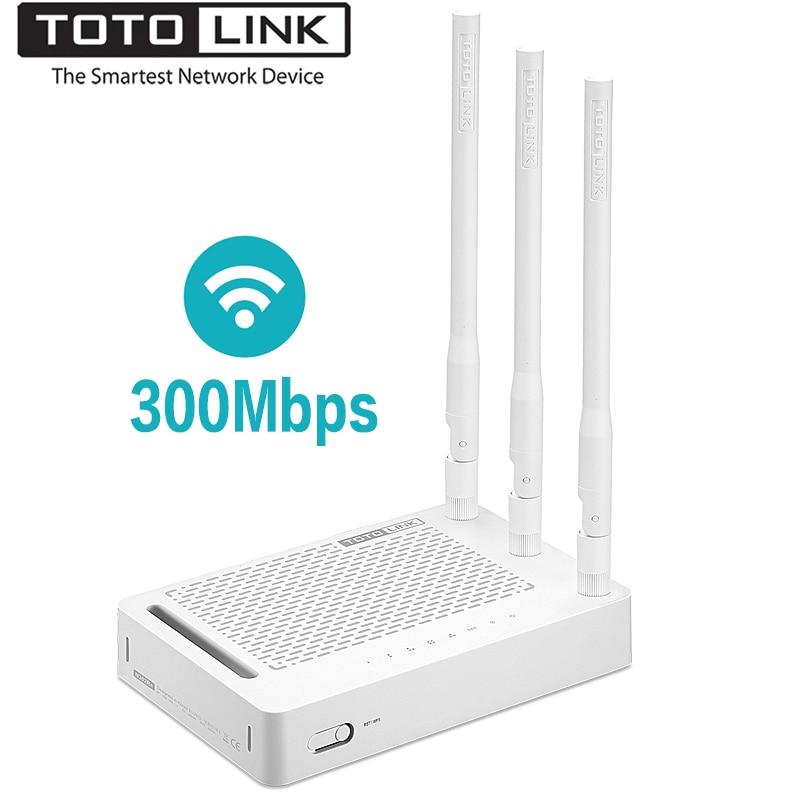 TOTOLINK-راوتر واي فاي لاسلكي عالمي N302R 300Mbps ، مكرر واي فاي عالمي مع هوائيات عالية الاستقرار 3 * 5dBi