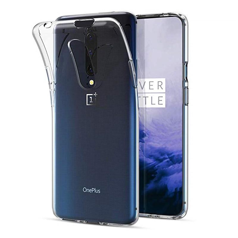 Magro Macio TPU Caso de Telefone Silicone Para Oneplus 7 Pro 6 6 T 5 5 T 3 3 T Claro caso de volta Telefone Capa Para Oneplus 7 6 6 T 5 5 T 3 3 T
