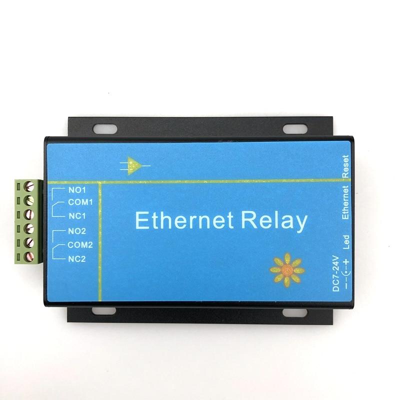 2 طريقة إيثرنت شبكة تتابع وحدة IP الوصول البعيد تحكم ذكي الذكية المنزل الصف الصناعية دعم MODBUS TCP
