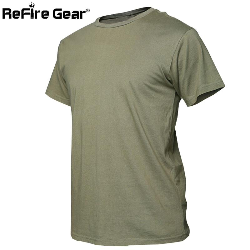 Sommer Camouflage Baumwolle T-shirt Männer Militärische Schnelle Trockenen O Neck Camo Tees, atmungsaktive Kurzarm Taktische Armee Kampf T Hemd
