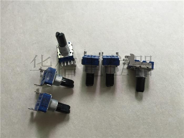 2pcs 142-type Horizontal Single Rotary Potentiometer  103B  10K / 4 Pins / Shank Length 15MMF