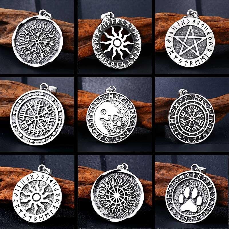 Ожерелье с кулоном BEIER thor's hammer mjolnir, Скандинавское ожерелье с викингом, норвежский колье с кулоном в стиле викингов, ретро украшения, Прямая поставка, BP8-299