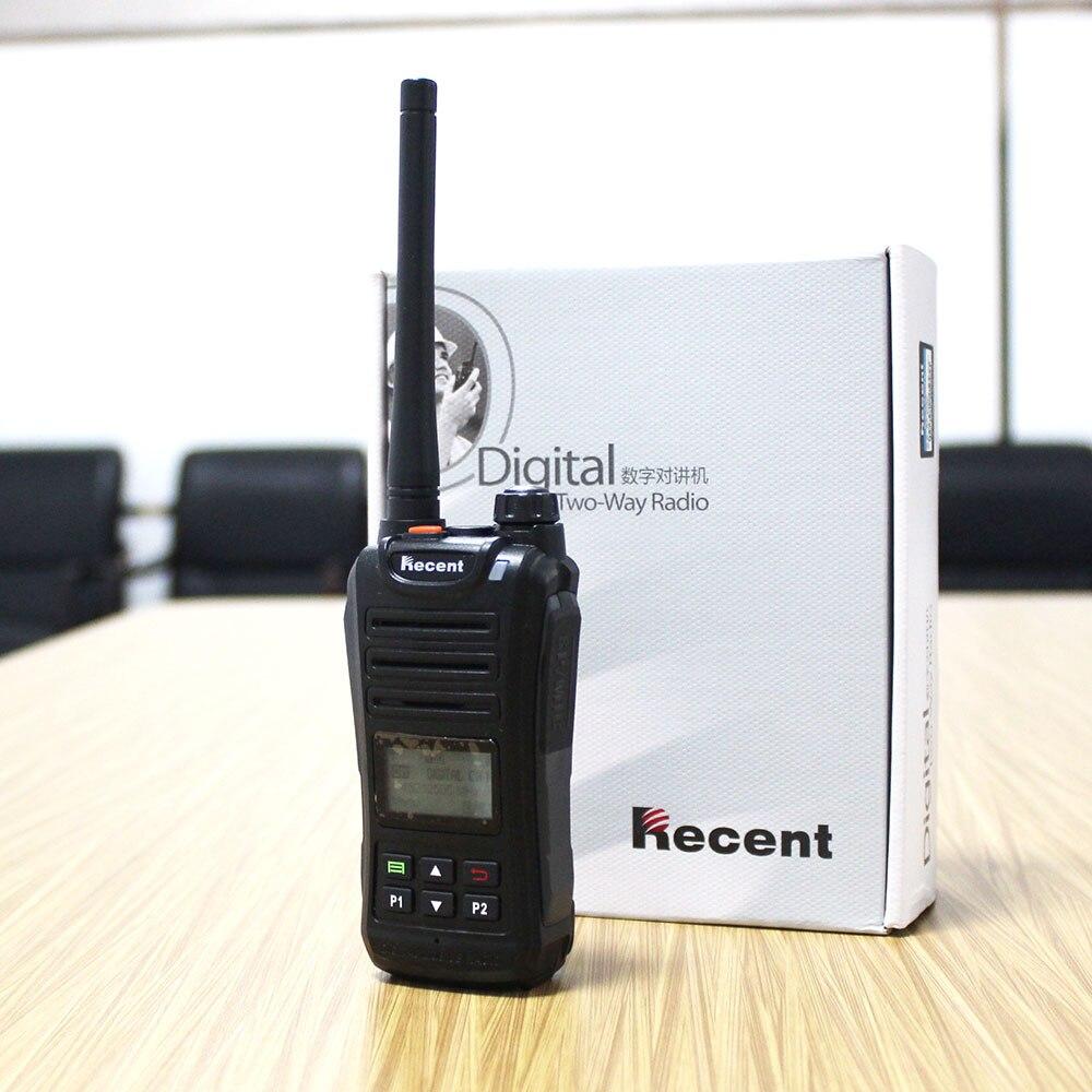 2W DPMR Radio Digital TS209D Walkie Talkie CTCSS/DCS UHF 400-470MHz 256CH pantalla LCD SMS profesional transceptor de Radio