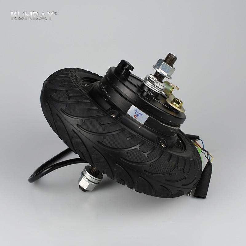 "Electric Scooter Hub Wheel Motor 24V 36V 48V DC Brushless Toothless 8"" Wheel Motor E-Scooter Wheel Bicycle Motor Wheel LM"