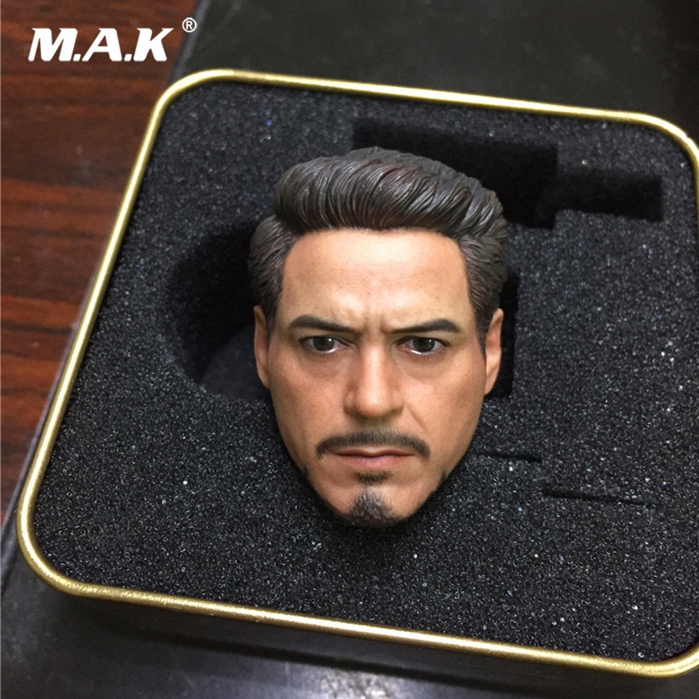 Tony Head Sculpt 1/6 Scale Male Soldier Head Model for 12inch Action Figure Toys Collection Head Carving 1 6 scale marlon brando head sculpt the godfather corleone head carving for 12 inches male figure body with gift