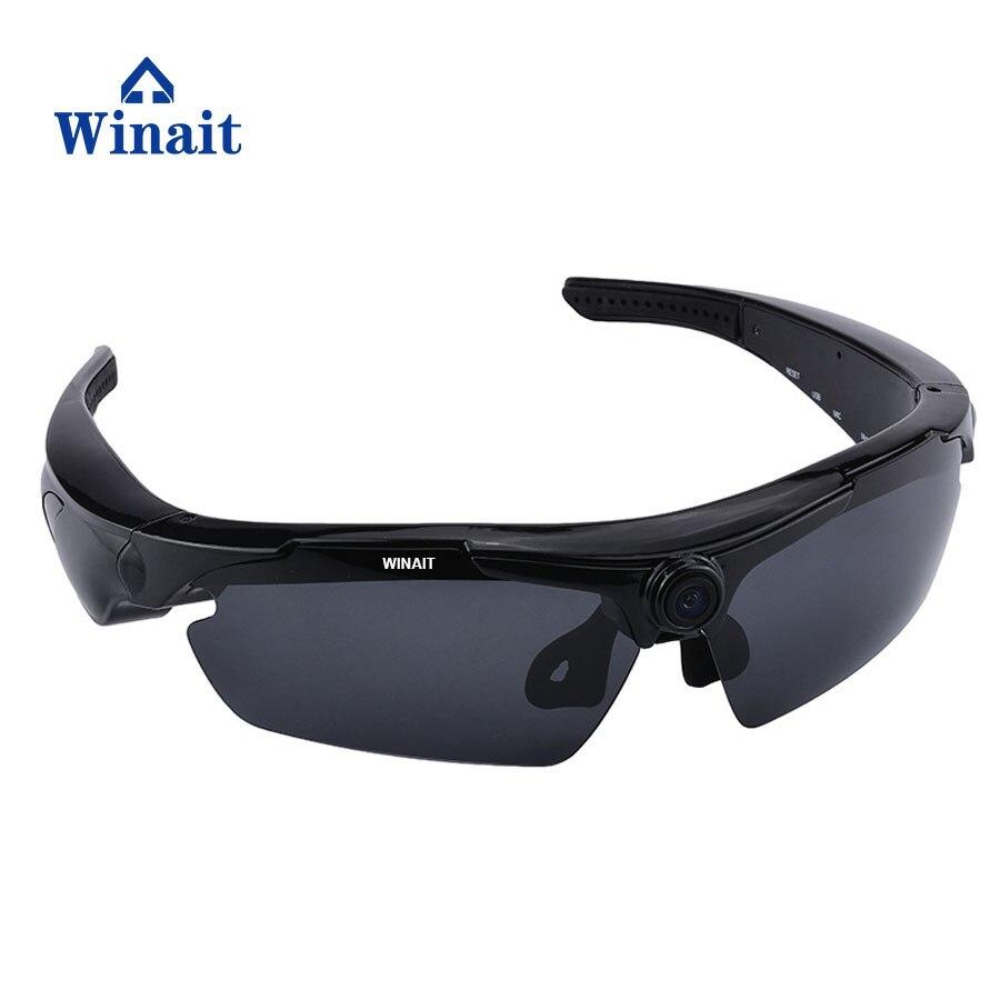 Winait HD 720P Mini Digital Video Camera Sunglasses Mini DV Remoter Control Sports Sunglasses