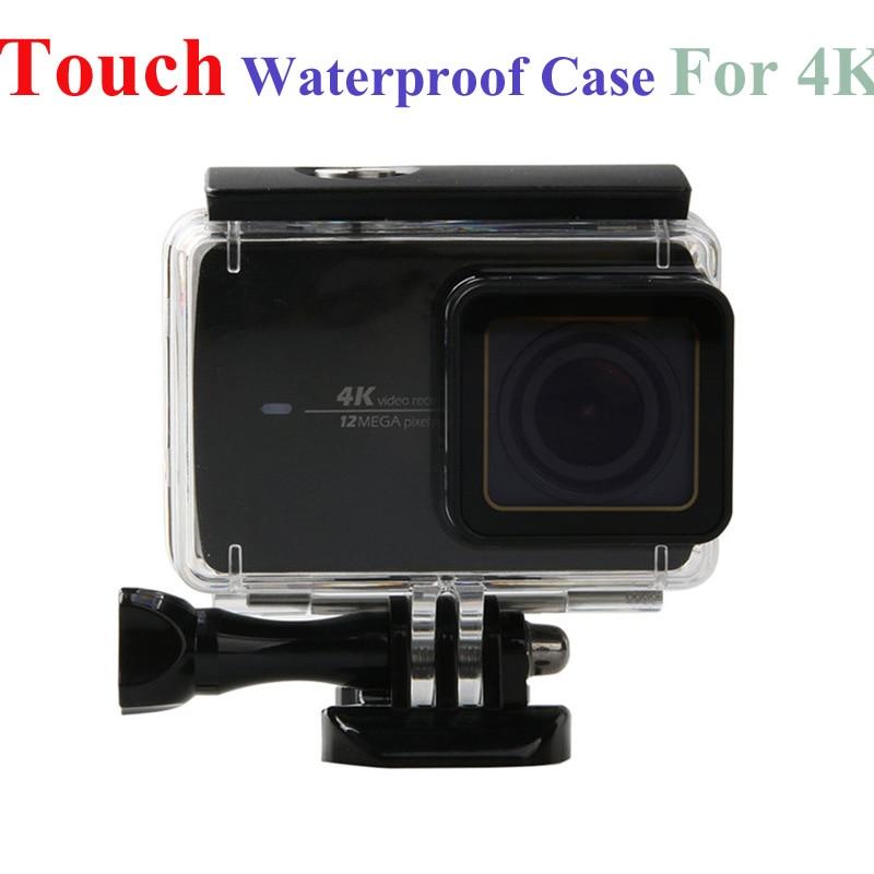 XiaoMi Yi 4K 4k+Touch Waterproof Case Sport Action Camera Waterproof Housing Box For XiaoMi Yi 2 II Xiao Yi 2 diving Accessories