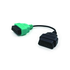 Image 3 - Для Fiat ECU 6/4/3 шт. кабели для FIAT ECU Scan & Multiecuscan Adapter OBD2 коннектор диагностический адаптер кабель Бесплатная доставка