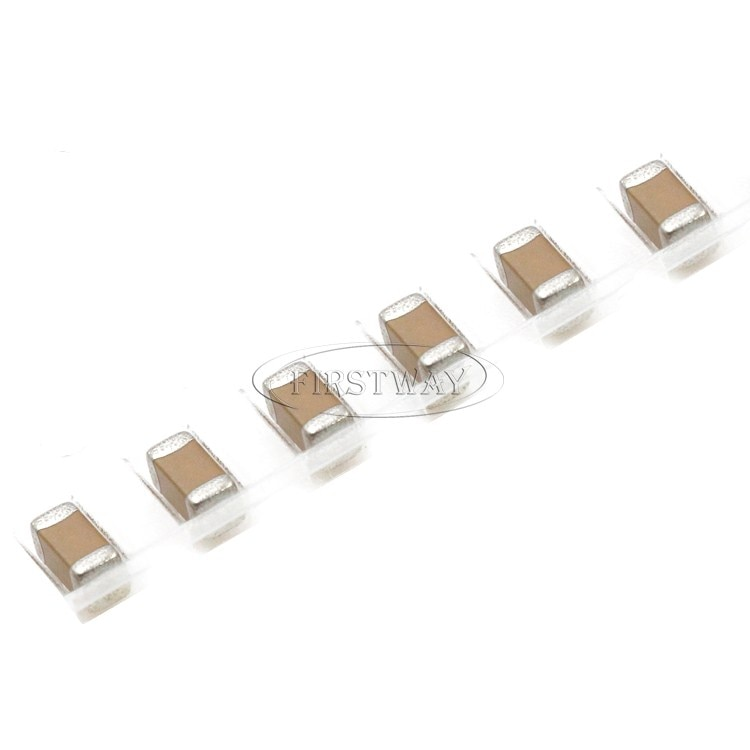50 PCS/1206 10PF 1KV NPO 1000 V 5% SMD capacitor