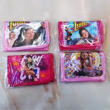 Aléatoire 1 pièces soja luna portefeuilles porte-monnaie sac en plastique jouet pour fille