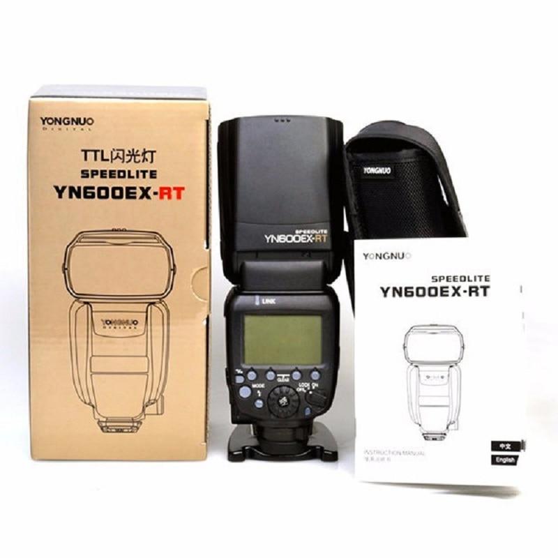 YONGNUO YN600EX-RT II GN60 2.4 جرام اللاسلكية HSS 1/8000s ماستر TTL فلاش ضوء Speedlite ل Dslr كاميرا كانون 600EX-RT ST-E3-RT