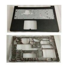 Nuevo para Dell para Inspiron 15-5000, 5545, 5547, 5548, 15M ordenador portátil cubierta superior con reposamanos + Base de la cubierta inferior de la minúscula D P/N 0WHC7T