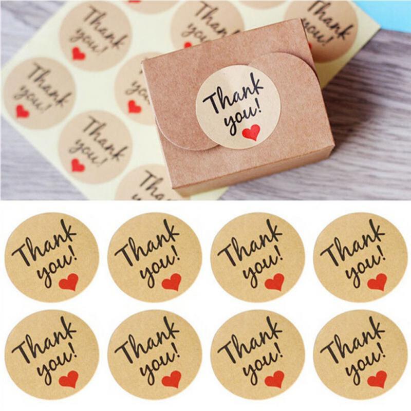 120 шт/10 листов, благодарим вас, запечатывание, ремесла, Свадебное Сердце, буквенная карта, конфеты/печенье/печенья, рождественское поздравле...