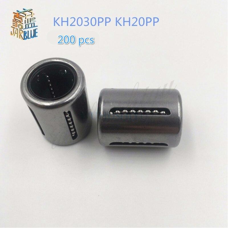 200 Uds. KH2030PP KH2030 KH mini cojinete de prensado lineal scramjet rodamiento de movimiento lineal