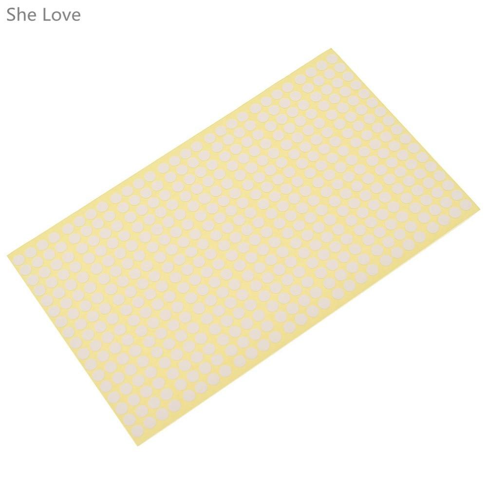 Chzimade 10 hojas de 6mm de vinilo de colores círculo redondo puntos pegatinas en blanco adhesivo etiquetas adhesivas para decoración de diario Scrapbooking