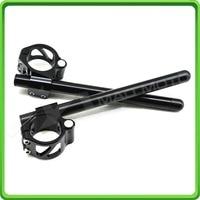 53mm clip on clip ons handle bars handlebar for APRILIA DUCATI BK