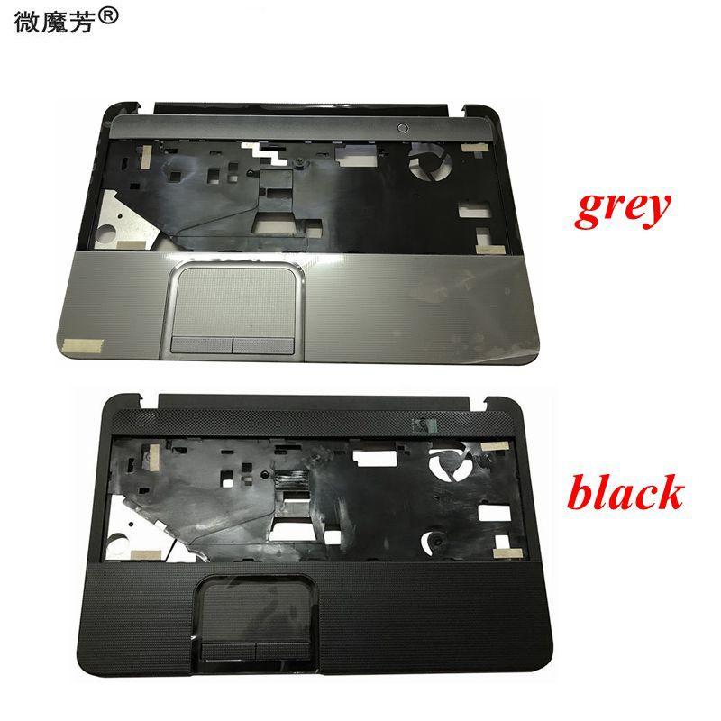 New laptop upper case base cover for Toshiba Satellite C850 C855 C855-S511 Palmrest topcase Keyboard bezel Upper cover