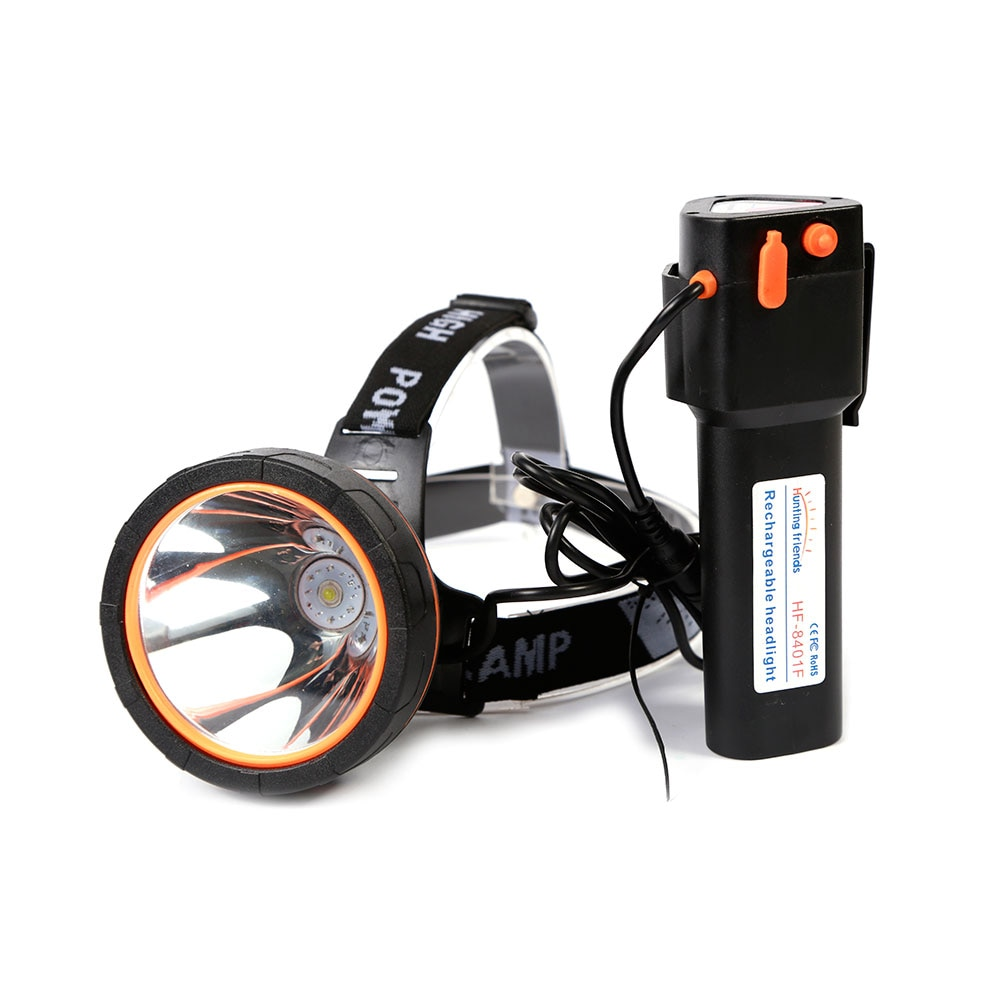 12pcs/lot High Power Headlamp 18650 Rechargeable Head Torch LED Waterproof Flashlight Forehead for Fishing Hunting Camping Lamp enlarge