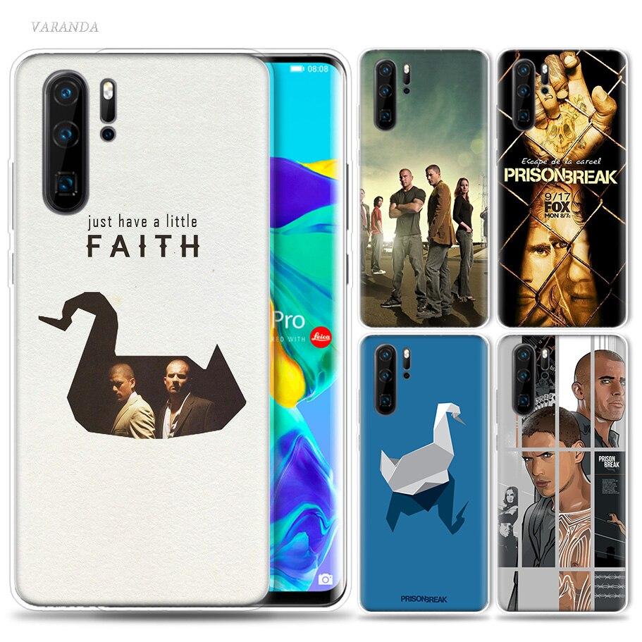 Prison Break Michael Scofield Case for Huawei P20 P30 P40 Lite E P Smart Z Plus 2019 Mate 30 10 20 Pro Silicone Phone Bags