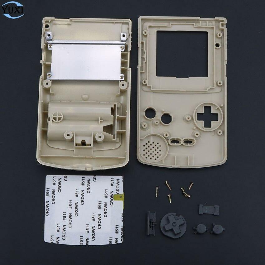 YuXi carcasa de repuesto de plástico para Nintendo Gameboy Classic para carcasa de consola GBC