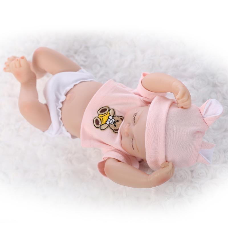 baby reborn body full silicon Realistic Newborn Baby Dolls Reborn Lifelike Full Body Silicone Babies Handmade Toddler Dolls Toys