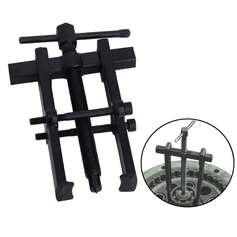Black Plated Two Jaws Gear Puller Armature Bearing Puller Forging Heavy Duty Automotive Machine Tool