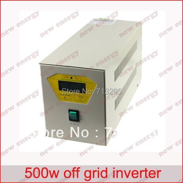 500VA 110/120/220/230/240VAC 50/60Hz الصناعية التردد خارج الشبكة العاكس/نقي شرط موجة العاكس ل 24V بطارية