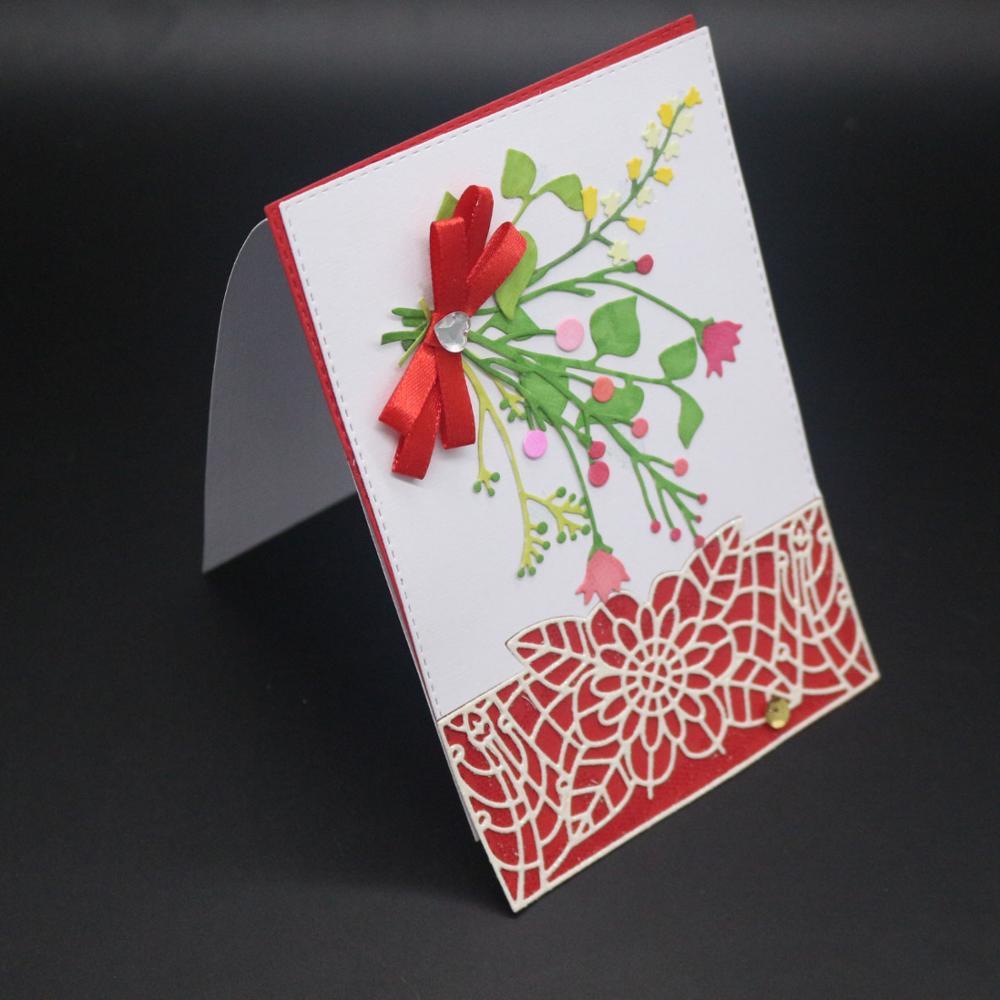 AZSG Decorative pattern  Cutting Dies For DIY Scrapbooking Card Making Metal Die Cutter Decoration