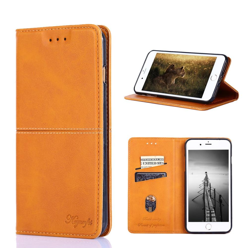 Retro Leather Case for SONY Xperia XZ XZs Premium XA1 XZ1 L1 L2 L3 XA2 XZ2 Compact XZ3 XA3 Z6 Case Wallet Flip Bag Holder Cover