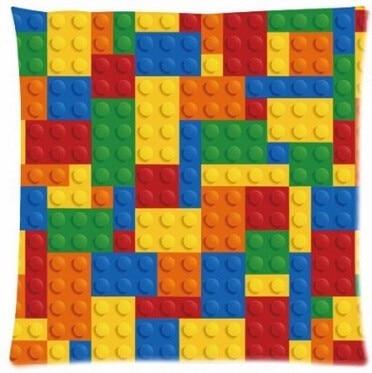 Индивидуальные Горячая распродажа Роскошные забавные блоки лего Лего, Квадратные наволочки, наволочки