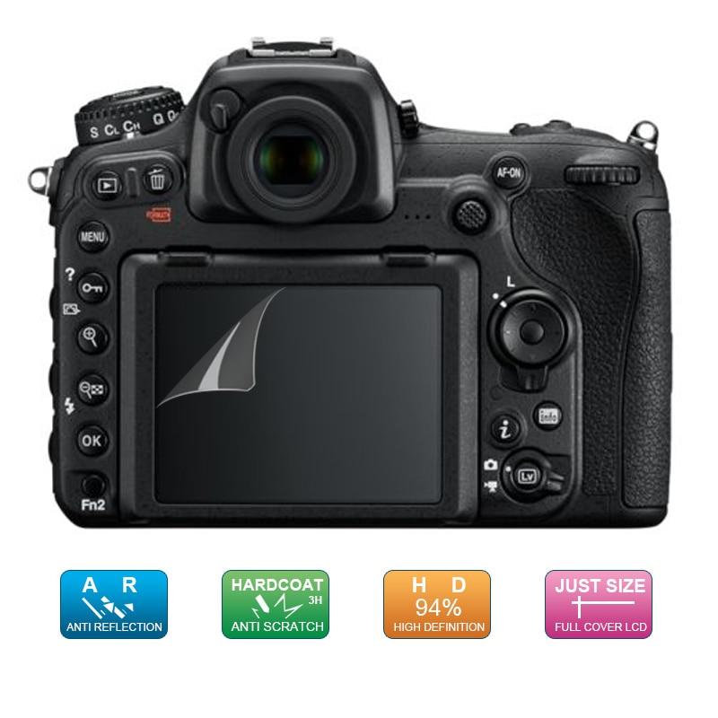 (6 шт., 3 упаковки) Защитная пленка для ЖК-экрана с ЖК-дисплеем для Nikon Z7 Z6 Z50 D7500 D500 D5 цифровая зеркальная камера
