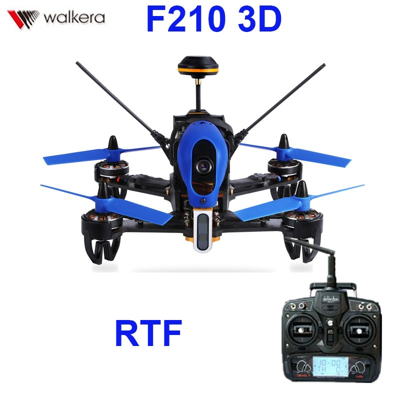 (In stock) Original Walkera F210 3D With Devo 7 transmitter  racing Drone quadcopter with OSD / 700T