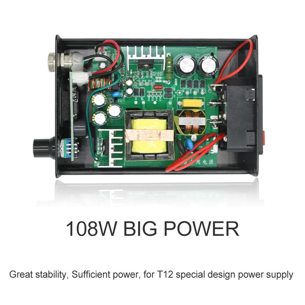 Greito kaitinimo litavimo stotis, elektroninis lituoklis su OLED - Suvirinimo įranga - Nuotrauka 6