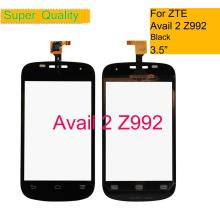 For ZTE Avail 2 Z992 Mobile Phone Touch Screen Digitizer Z992 Touch Panel Touchscreen Glass Part Rep