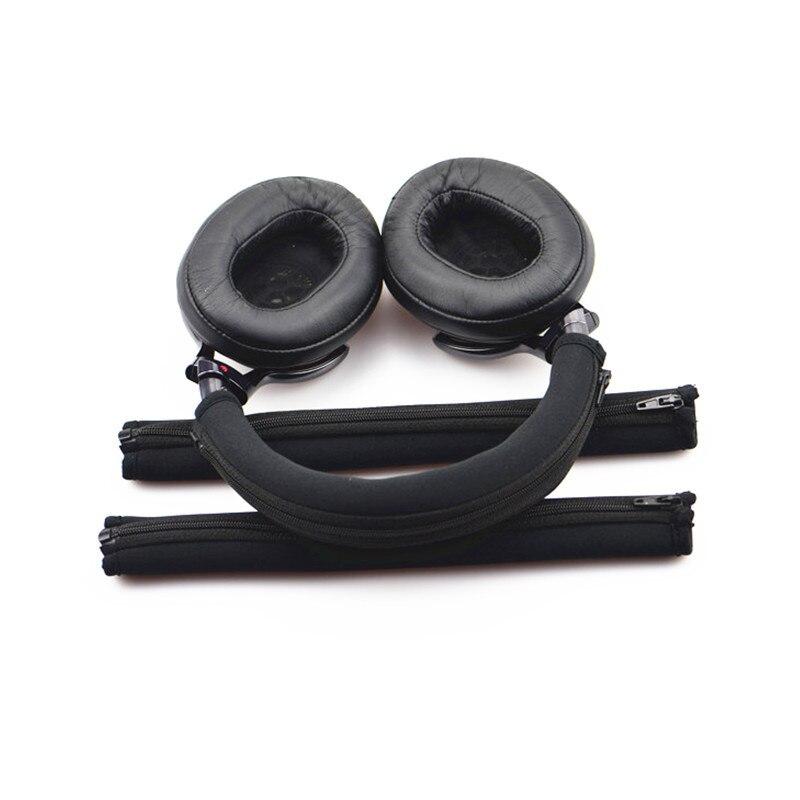Новая замена оголовье наушников чехол для SONY MDR 1A 1adac 1R наушники защитная губка повязка на голову, моющееся покрытие, высокое качество наушники sony mdr zx310ap синий