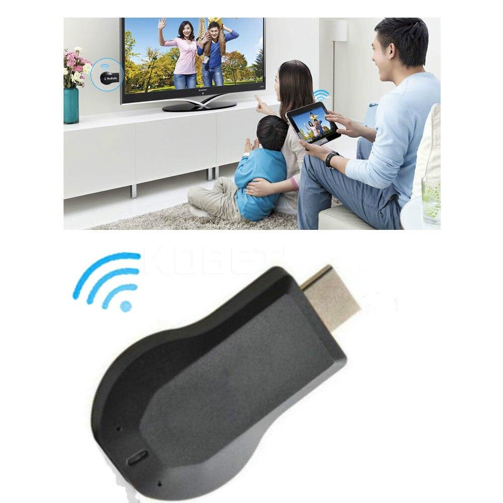 Receptor de pantalla M2 HDMI inalámbrico TV Stick para iPhone 7 6X8 adaptador Miracast para IOS android