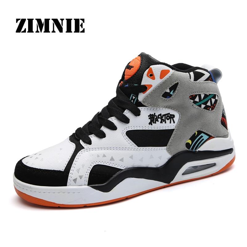 Marca ZIMNIE, zapatillas de deporte con cojín de aire de cuero genuino para hombres, zapatos de moda para aumentar la altura, zapatos planos informales cómodos para hombres