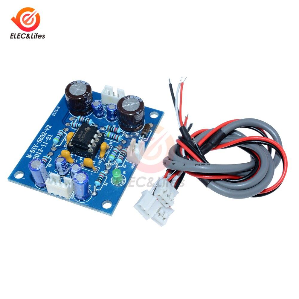 NE5532 Audio OP-AMP HIFI Amplifer Preamplifier Board Signal Bluetooth Amplifer Module Operational amplifier Board DIY Kit