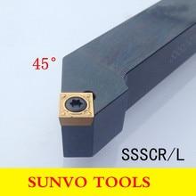 SSSCR SSSCL 1616H09/1212H09  CNC Screw Fastening External Turning Holder Use SCMT SCGT 090204/090208 Insert