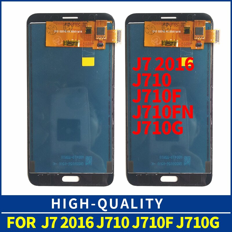 Para samsung galaxy j710 SM-J710F j710m j710h display lcd tela de toque digitador assembléia j710f lcd